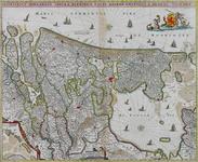 1969-1488 Kaart van het graafschap Holland; linksonder inzetkaart Waddeneilanden