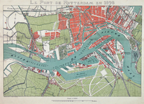 1969-1671 Kaart van de havens van Rotterdam