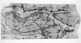 1969-3 Kaart van het eiland IJsselmonde; met stadsgezichten van Rotterdam en Dordrecht [foto ]