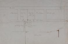 1970-1437 Plattegrond van enkele grondpercelen in de omgeving van de school te Hillegersberg