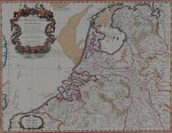 1970-1747 Kaart van de verenigde provincies van de Nederlanden [facsimile]