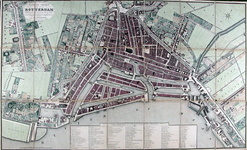 1970-749 Plattegrond van Rotterdam