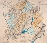 1971-1241 Kaart van het territorium van Zoetermeer's Gezondheidscommissie