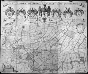 1971-125 Kaart van het Hoogheemraadschap van Schieland [foto]