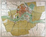 1971-1560 Plattegrond van de gemeente Rotterdam.