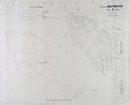 1971-220-1 Kadastrale kaart van Delfshaven, sectie E, 2e blad. Het afgebeelde gebied wordt begrensd door de Nieuwe ...