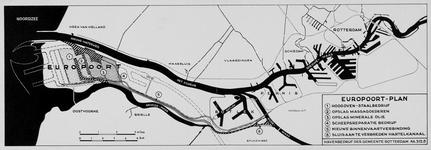 1972-753 Plankaart voor het Europoortgebied en de Maasvlakte