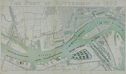 1973-4781 Kaart van de havens van Rotterdam