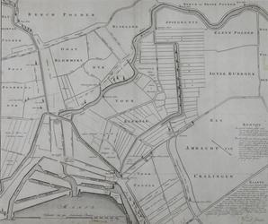 1973-4784 Plankaart van de Schielandse Hoge Boezem met delen van de omliggende polders