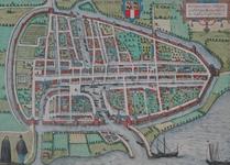 1973-5324 Plattegrond van Rotterdam