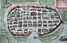 1973-5360 Plattegrond van Rotterdam
