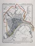 1973-5392 Plattegrond van Rotterdam
