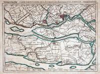 1973-5428 Kaart van Rotterdam en omgeving. Het afgebeelde gebied wordt begrensd door Maassluis, Middelharnis, ...