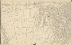 1975-1109-2 Kaart van Rotterdam en omgeving. Blad 2. Titelblad en Rotterdam-Noord Hillegersberg.