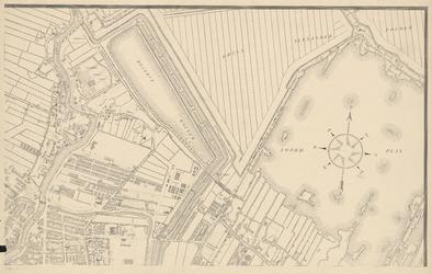 1975-1109-4 Kaart van Rotterdam en omgeving. Blad 4: Kralingen en Kralingseplas