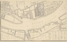 1975-1110-3 Kaart van Rotterdam en omgeving. Blad 3: Delfshaven, het Park, het Nieuwe Werk, de Nieuwe Maas en de Dokhaven.