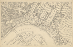 1975-1110-5 Kaart van Rotterdam en omgeving. Blad 5: Stadsdriehoek en Kralingen