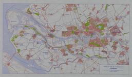 1975-1659 Overzichtskaart van de gemeenten in het Rijnmondgebied