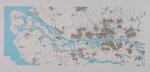 1975-1667 Kaart van Rotterdam en het Rijnmondgebied