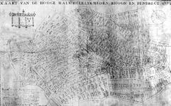 1975-2061B Perceelkaart van de heerlijkheden Rhoon en Pendrecht [foto]