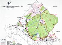 1976-76 Kaart van het Hoogheemraadschap van Delfland