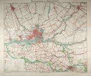 1977-1633 Wandel-, fiets- en autokaart van Rotterdam en omstreken