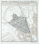 1978-1565 Kaarten van het stratenplan van het oostelijke deel van de polder Nieuw-Mathenesse [=Tussendijken]. Het ...