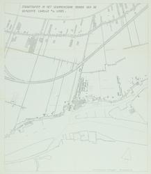 1978-1567 Plattegrond van Kralingseveer en omgeving met aanduiding van de nieuwe gemeentegrenzen