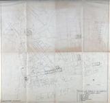 1978-1570 Plattegrond van het centrum van Rotterdam waarop de mogelijke vindplaatsen van oude fundamenten staan aangegeven