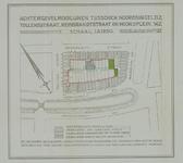 1978-1574 Kaart van percelen gelegen aan de Rembrandtstraat, Tollensstraat, Noordsingel en Noordplein