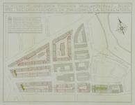 1978-1578 Plattegrond van percelen tussen de Hooglandstraat, Bergweg, Soetendaalscheweg en Zwaanshals, met aanduiding ...