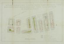 1978-1585 Plattegrond van percelen tussen de Eerste Pijnackerstraat, de Zwart Janstraat en de Benthuizerstraat, met ...