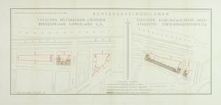1978-1589-1 Plattegrond van percelen gelegen tussen Delfgaauwstraat, Lisplein, Bergselaan, Gordelweg c.a. en ...