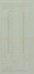 1978-1590 Plattegrond van de Noorderhavenkade en omgeving met aanduiding van de achtergevelrooilijnen