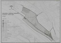 1978-1832 Kaart behorende bij de herziening van het Streekplan Rijnmond, betreffende Rijnmond Noord-west: het gebied ...