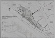 1978-1833 Kaart behorende bij de herziening van het Streekplan Rijnmond, betreffende Rijnmond Noord-west: het gebied ...