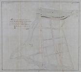 1978-2000 Plattegrond van de wijk Rubroek met geprojecteerde straten. Het afgebeelde gebied wordt begrensd door de ...