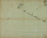1978-2001 Plattegrond van de Veerdam en het Klein Nieuwe Werk [=Westerstraat], met vermelding van de stadsherberg