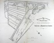 1978-2006 Plattegrond van een gedeelte van de Provenierswijk, gelegen tussen de Schiekade, Beukelsdijkscheweg ...