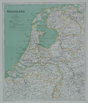 1978-2534 Kaart van Nederland met Spoor- en Tramlijnen 1904.