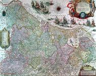 1978-3110 Kaart van de 17 provinciën