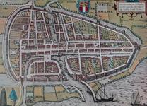 1978-3111 Plattegrond van Rotterdam [facsimile]