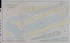 1978-417 Plattegrond van de Haringvliet en omgeving met aanduiding van de rijrichting van het wegverkeer