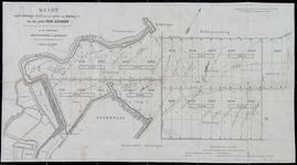 1979-101 Kaart van een deel van de polder Prins Alexander in de gemeenten Hillegersberg en Kralingen