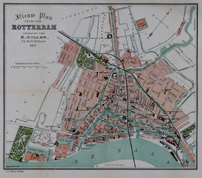 1979-111 Plattegrond van Rotterdam.