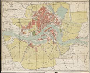 1979-199 Plattegrond van de gemeente Rotterdam