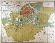 1979-200 Plattegrond van de gemeente Rotterdam.