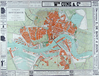 1979-204 Plattegrond van Rotterdam
