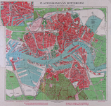 1979-2116 Plattegrond van Rotterdam.