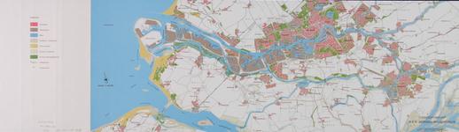 1979-321 Overzichtskaart van Rotterdam en omgeving ten behoeve van de milieu-effectrapportage (MER) berging baggerspecie